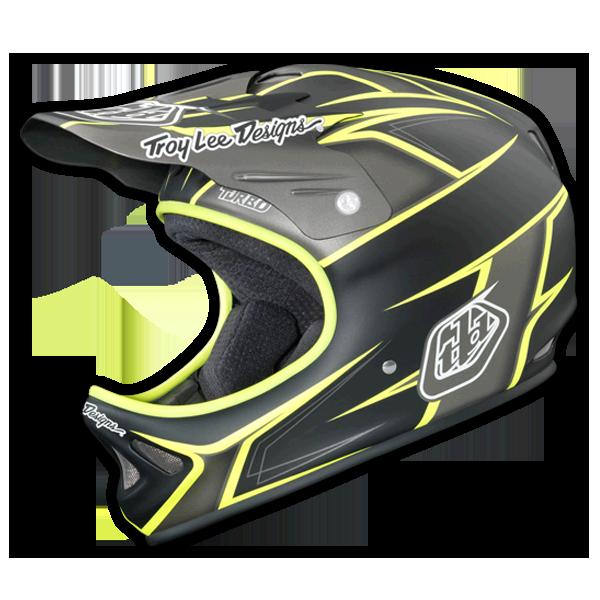 D2 Helmet Turbo Matte Gray